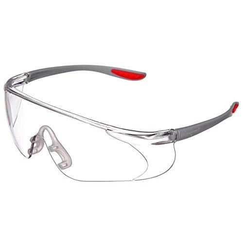 Brillenbril, spatwaterdicht, winddicht, stofdicht, zandbestendig, voor mannen en vrouwen, transparante brillen, universeel Dames Transparentes