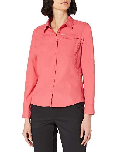 Columbia Silver Ridge 2.0 Camisa de manga larga, Mujer, Rouge Pink, S