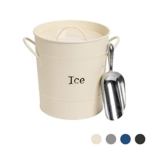 Harbour Housewares Industrial cubo de hielo con la cucharada ...
