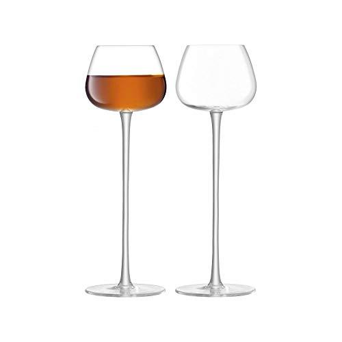 LSA International Bar Culture - Juego de 2 vasos de licor (4 onzas), transparente