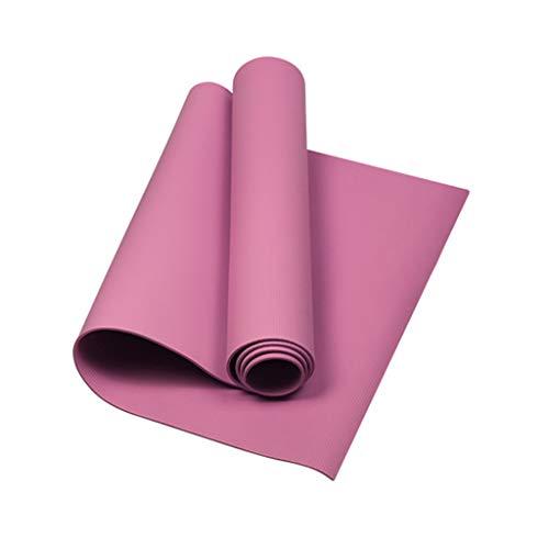 geneic Yogamatte, 3 mm dick, rutschfest, EVA, für Bodybuilding, Fitness, Sportzubehör