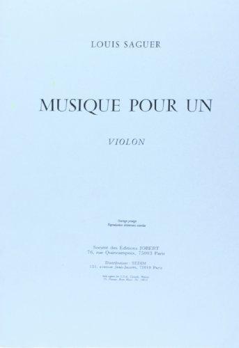 Musique pour un violon
