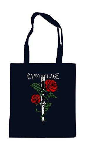 Certified Freak Knife Roses Bag Black