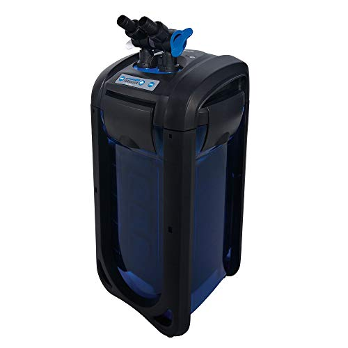 Top Fin CF100 Canister Filter Fresh and Salt Water 5 Stage Filtration System