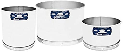 Opening Size Gilson 8-Inch ASTM E11 Test Sieve 203mm 7//16 Inch 11.2mm Full Height V8SF 7//16 All Stainless Steel