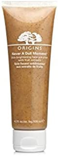 Origins Never A Dull Moment Skin-Brightening Face Polisher With Fruit Extracts 125ml (Pack of 6) - 起源果実抽出物125ミリリットルと決して退屈の肌を明るくフェイスポリッシャー x6 [並行輸入品]