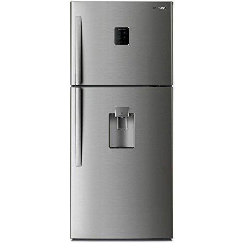 DAEWOO Kühlschrank oben 505LT Energie A + NO FROST LED Edelstahl fn-595nwsit
