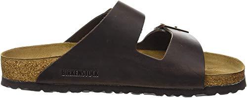 Birkenstock Classic ARIZONA FL Unisex-Erwachsene Pantoletten, Braun (HABANA), 45 EU