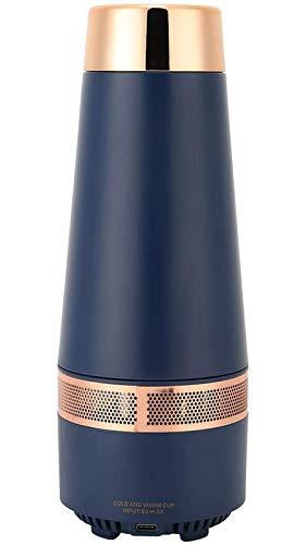 Bouteille d'eau intelligente, tasse de fiole à vide de 330 ml, tasse de refroidissement portative tasse de chauffage de voyage de bouilloire de contrôle de température variable pour la maison de voitu