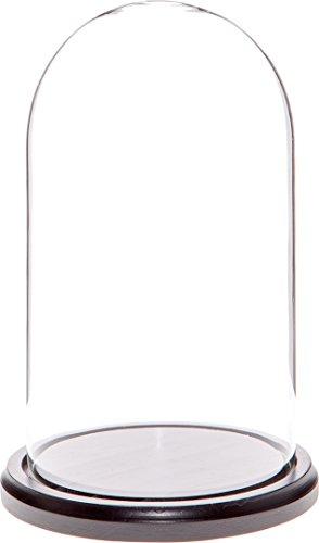 campana cristal base madera de la marca Plymor