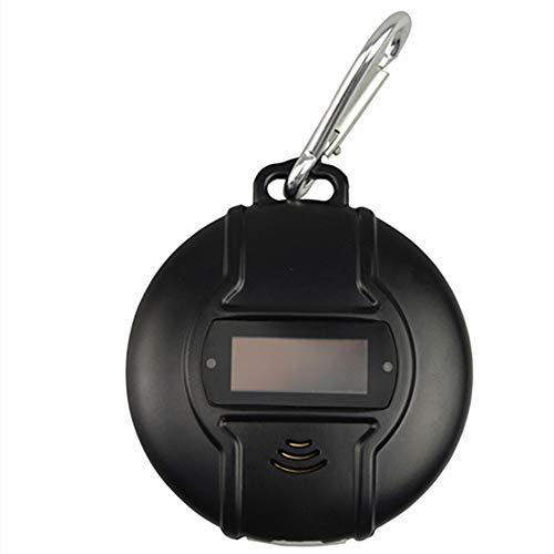 NHJBOX MäUseabwehr Ultraschall Garten/MäUseabwehr Spray Ultraschall Schädlingsbekämpfer, elektronischer Plug-in Schädlingsvertreiber Mäusevertreiber,Black