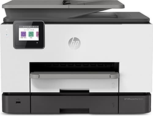 HP OfficeJet Pro 9020 1MR78B Stampante Multifunzione A4 a Getto di Inchiostro, Stampa, Scansiona, Fotocopia, Fax, Wifi, HP Smart, Stampa fronte retro automatica, 2 Mesi di Instant Ink Inclusi, Nera