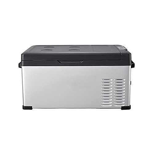 QSWL 40-liter Car Refrigerator, 12/24V DC And 220V AC Refrigerator, Freezer Refrigerator Cooler, Suitable For Car, Camping And Home Use (Color : A, Size : 12v 220V)