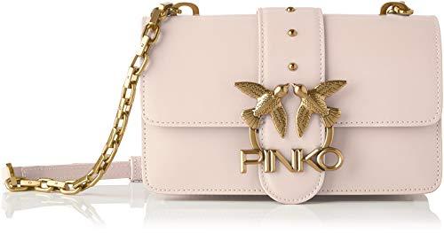 Pinko, LOVE MINI ICON SIMPLY 5 CL VIT Donna, O81_ROSA-POLVERE ROSA, U