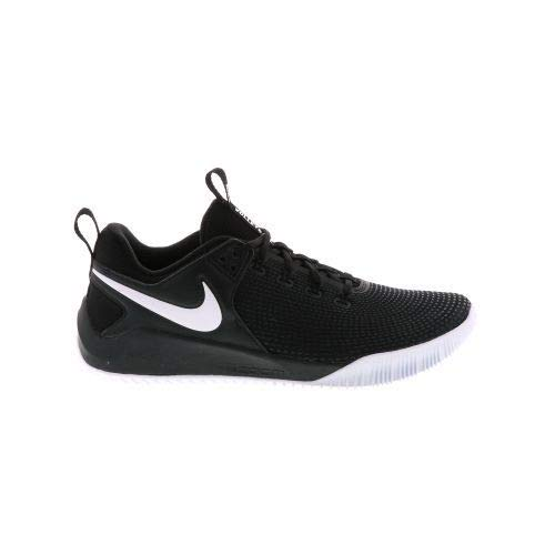 Nike Women's Zoom HyperAce 2 Volleyball Shoes (6 M US, Black/White)