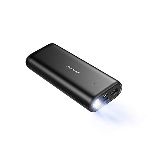 CHARMAST Power bank 10000mAh con Torcia LED
