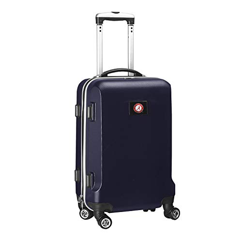 Learn More About Denco NCAA Alabama Crimson Tide Carry-On Hardcase Luggage Spinner, Navy
