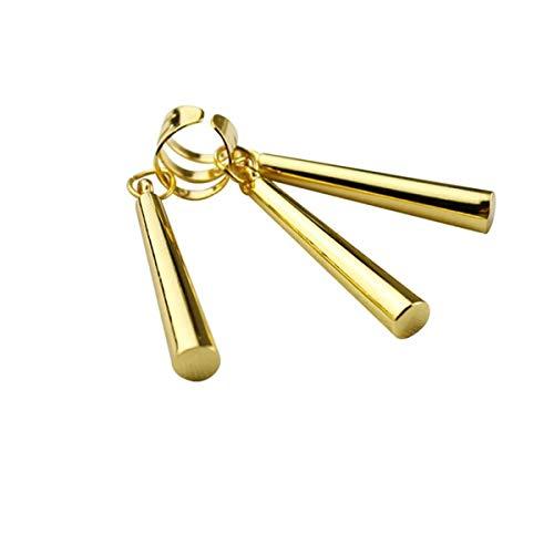1 pieza Roronoa Zoro pendientes de clip para disfraz de cosplay (dorado)