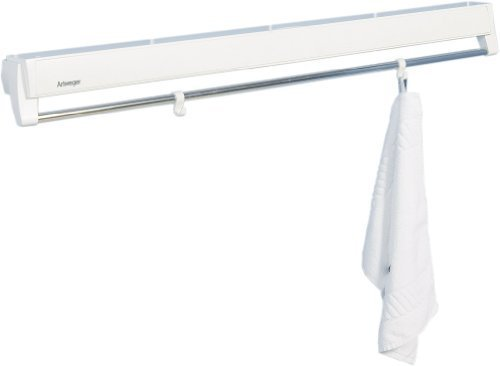 Artweger ArtDry 80 Clothes Dryer and Mounting Set, White by Artweger