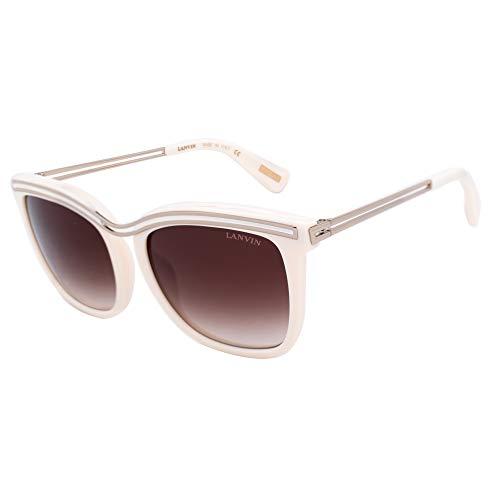 Lavin Lanvin Sonnenbrille SLN761M 0702 54 18 135 Gafas de sol, Blanco (Weiß), Mujer