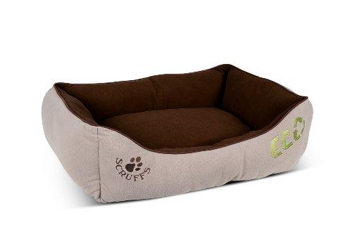Scruffs 676437 Eco Hundebett Gr. M, 60 x 50 cm, braun