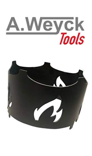 A. Weyck Tools Wok-Aufsatz für Feuerplatte Wok Pfanne Dutch Oven Grilleinsatz BBQ Ø 20cm Fire