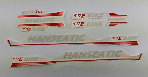 Fahrrad DEKOR Satz Aufkleber Rahmen Frame Decal Sticker Hanseatic Sticker