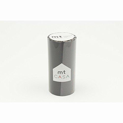 カモ井加工紙 マスキングテープ mt CASA 100mm幅×10m巻き マットブラック MTCA1085