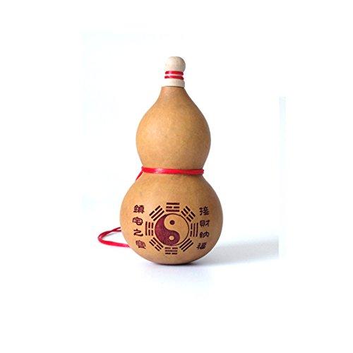 One Big Feng Shui Natural Wu Lou Wu Lu Gourd Charm...