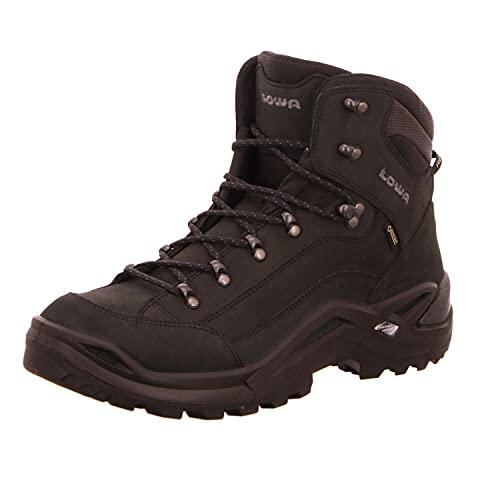 Lowa Men's Renegade GTX Mid Ankle Boot Size: 10 UK Nero