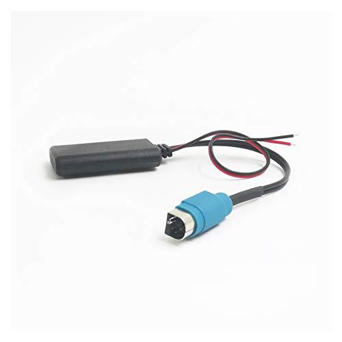 FENGFENG Sun Can Coche Bluetooth 5.0 Adaptador de música inalámbrico Ajuste para el Adaptador de Cable Auxiliar de Radio Alpino KCE-236B CDE9885 9887 A Smartphone (Color Name : Bluetooth)