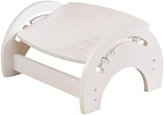 KidKraft Nursing Stool White