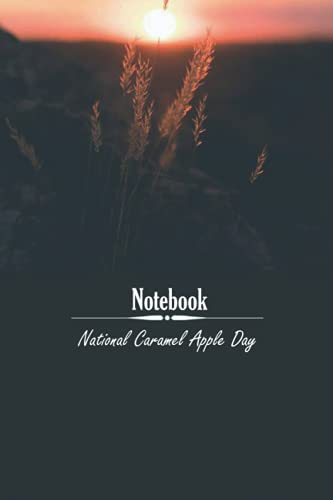 National Caramel Apple Day: notebook