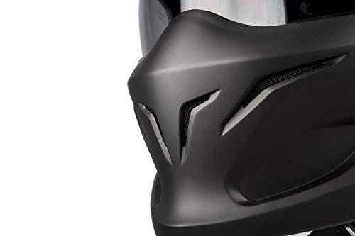 Scorpion Motorradhelm Exo Combat, Schwarz, Größe M - 7