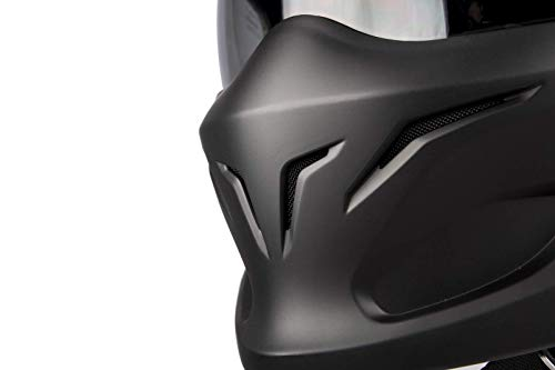 Scorpion Motorradhelm Exo Combat, Schwarz, Größe M - 6