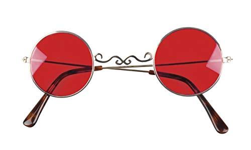 Boland 72136 Vampir - Gafas de Sol, Color Rojo