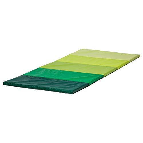 PLUFSIG Faltbare Gymnastikmatte grün