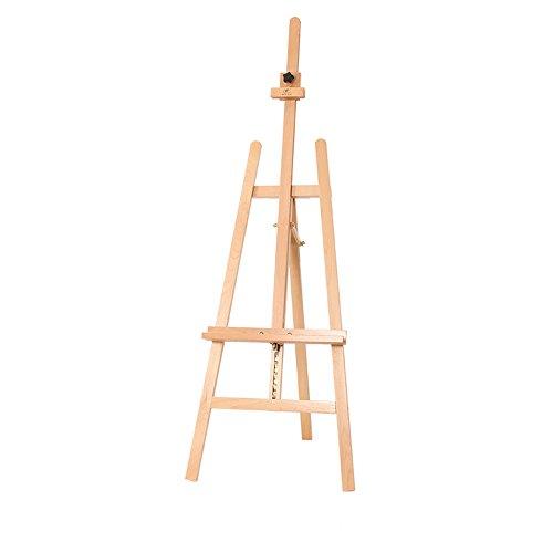 WAWDZG Massief hout houten schilderij planken/reclame kunst easel/Schets aquarel kleding onroerend goed display rack ezel