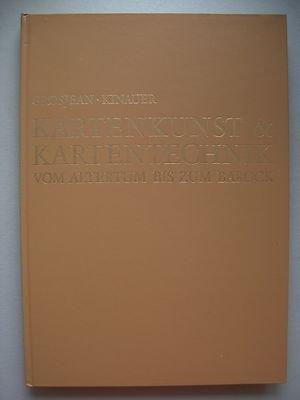 Kartenkunst & Kartentechnik vom Altertum bis zum Barock 1975 Weltbild Erdbild