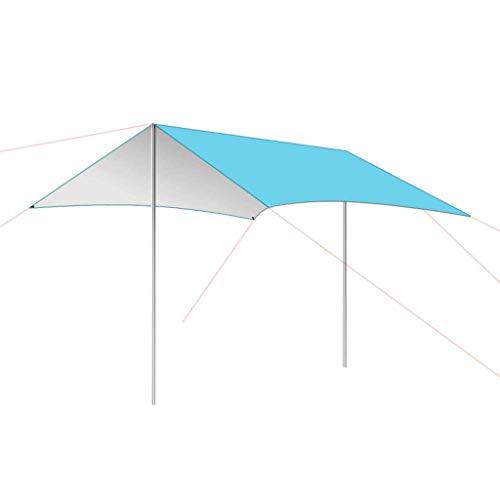 YDHWY Carpa for Dosel Ultraligera for 3-4 Personas. Cobertizo Multiusos for Acampada Cuenta de una Sola Capa. Lluvia y cenador for Picnic a Prueba de Viento. (Color : B)