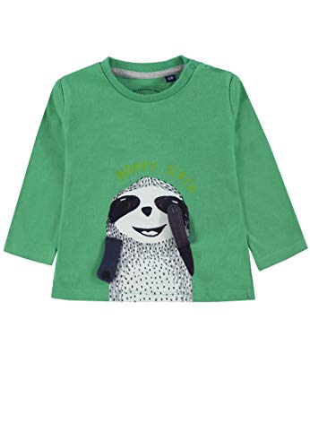 TOM TAILOR Kids T- Shirt Placed Print, Vert (Simply Green 5010), 86 Bébé garçon