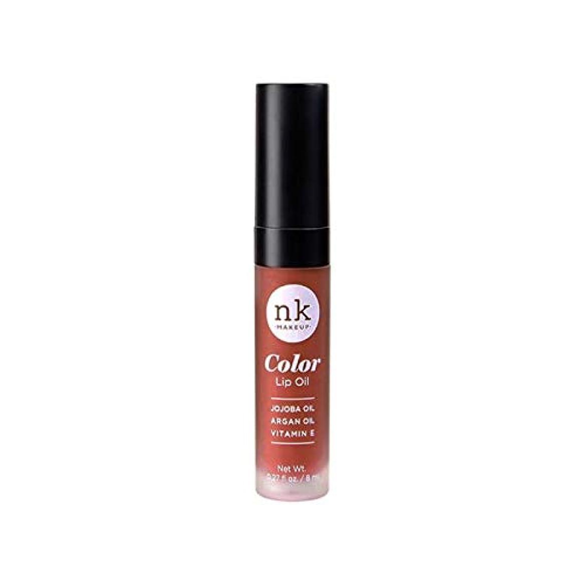 抜粋磁器クレジット(3 Pack) NICKA K Color Lip Oil - Ginger Snap (並行輸入品)