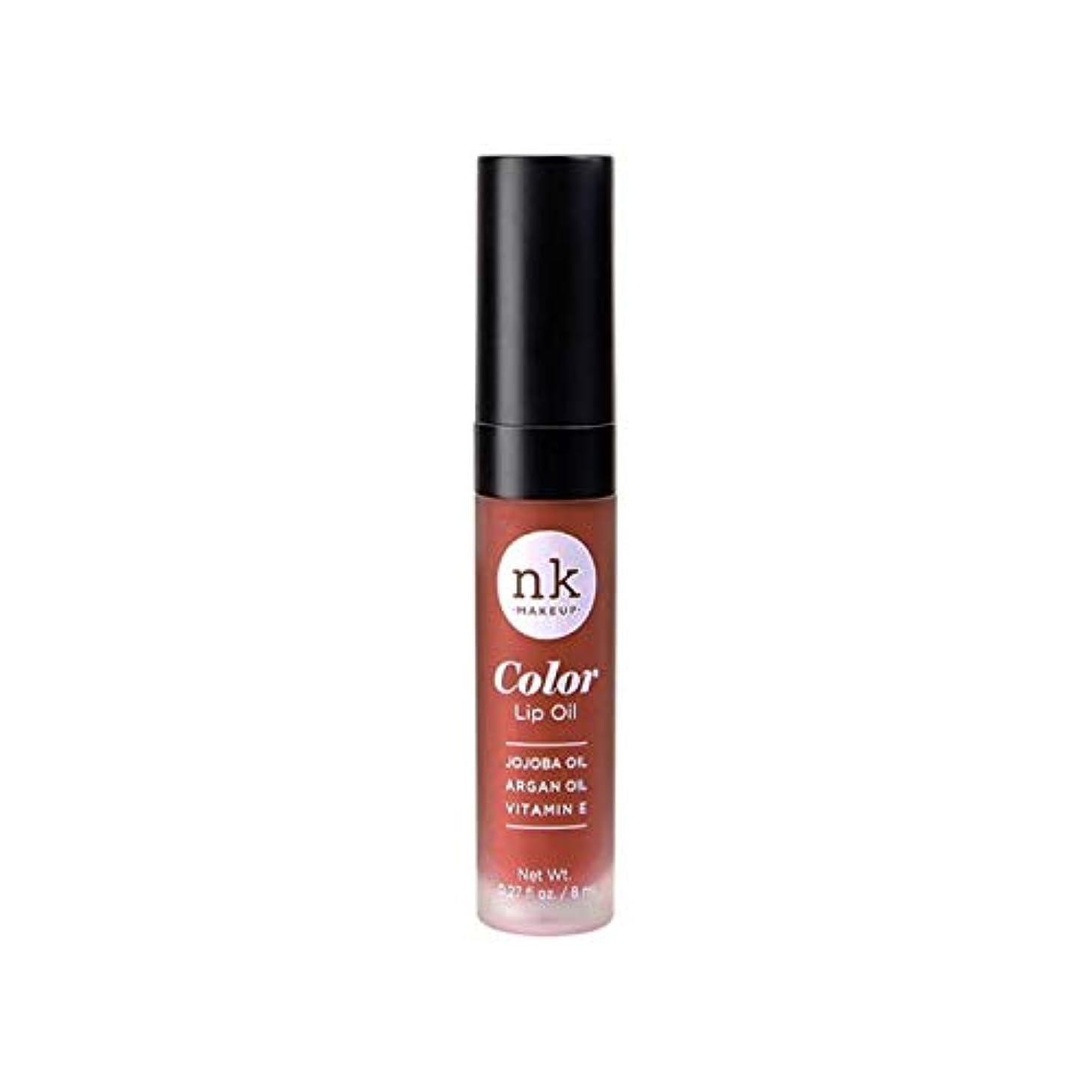 外向き許されるベアリング(3 Pack) NICKA K Color Lip Oil - Ginger Snap (並行輸入品)