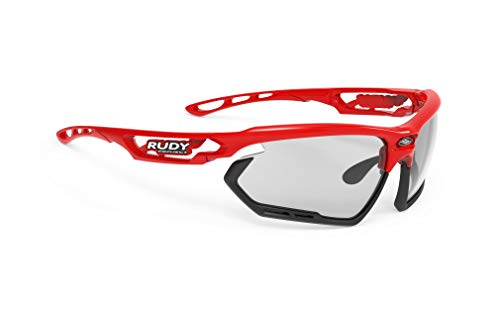 Rudy Project Fotonyk Brille fire red Gloss - impactx photochromic 2 Black 2021 Fahrradbrille