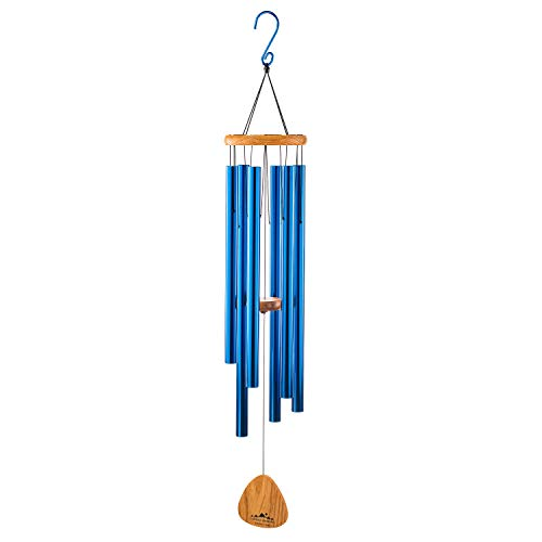 "UpBlend Outdoors Wind Chimes for People who Like Their Neighbors 2 - an Amazing Addition to a Patio, Porch, Garden, or Backyard - 41"" Total Length"