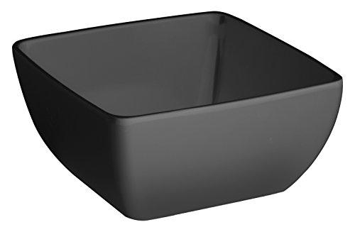 LACOR-Bol à Salade Mélamine Classique 19 x 19 x 9 cm Noir