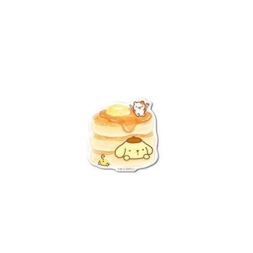 ポムポムプリン ミニステッカー ホットケーキ キャラクターステッカー サンリオ イラスト かわいい 人気 LCS1351 gs 公式グッズ