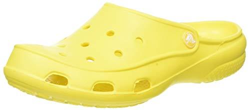 Crocs Damen Freesail Women Clogs, Gelb (Lemon 7c1), 43 EU