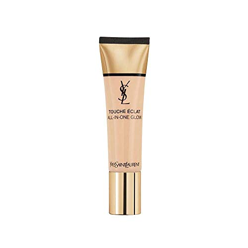 Yves Saint Laurent Touche Éclat All-in-One Glow Fondotinta Illuminante, B50 Honey, 30 ml