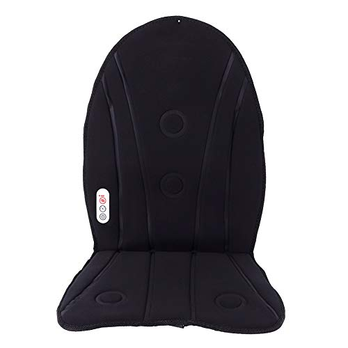 Confortable Waist Back Massage Seat Car Seat Massage Cushion for Office Seat for Muscle Relaxation(British standard 220v)
